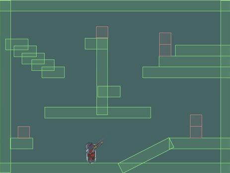 Один из первых билдов игры