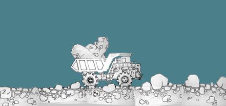 Набросок для игры Mining Truck