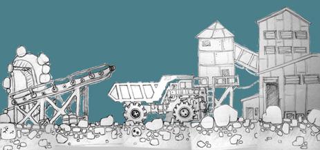 Фабрика и шахта