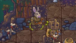 Главный герой с головой зайца