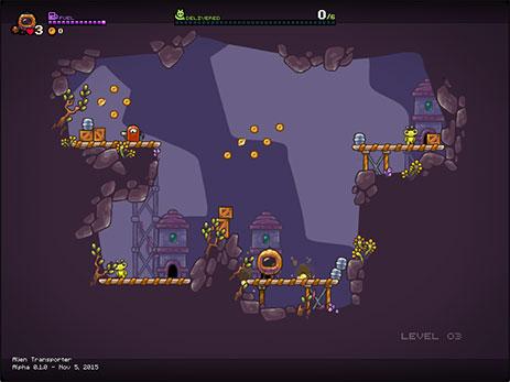Скриншот Alien Transporter